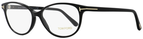 Tom Ford Oval Eyeglasses TF5421 001 Size: 53mm Black/Gold FT5421