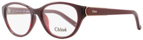 Chloe Cateye Eyeglasses CE2646 603 Size: 52mm Bordeaux 2646
