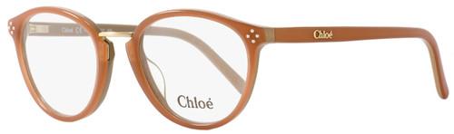 Chloe Oval Eyeglasses CE2666 208 Size: 52mm Caramel 2666
