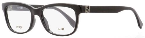 Fendi Rectangular Eyeglasses FF0009 D28 Black 51mm 009