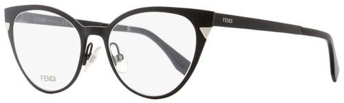 Fendi Oval Eyeglasses FF0126 003 Matte Black 51mm 126