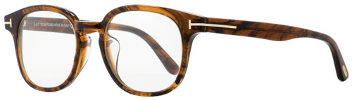 Tom Ford Oval Fashion Frames TF399F Frank 048 Brown Melange/Gold 52mm FT0399