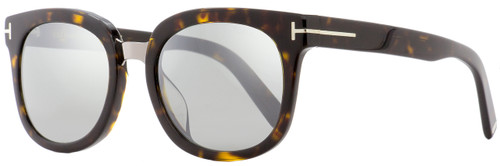 Tom Ford Oval Sunglasses TF479D  52C Havana/Gold 55mm FT0479D