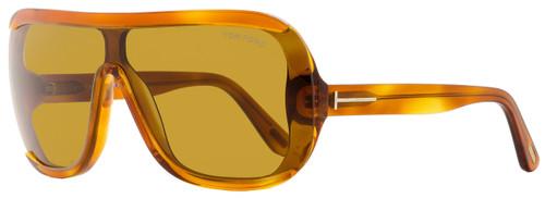 Tom Ford Shield Sunglasses TF559 Porfirio-02 53E Light Havana 0mm FT0559