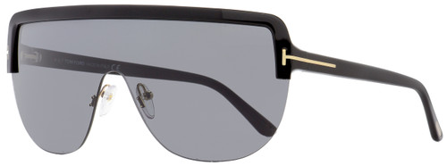 Tom Ford Shield Sunglasses TF560 Angus-02 01A Black/Gold 0mm FT0560