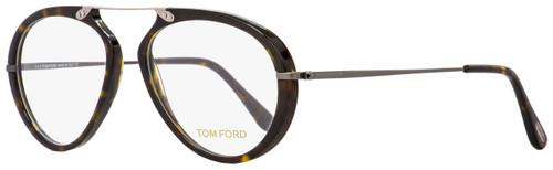 Tom Ford Oval Eyeglasses TF5346 052 Havana/Dark Ruthenium 53mm FT5346