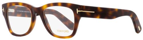 Tom Ford Square Eyeglasses TF5379 052 Havana/Gold 51mm FT5379