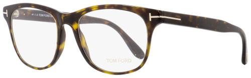 Tom Ford Round Eyeglasses TF5399 052 Havana/Gold 54mm FT5399