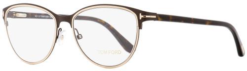 Tom Ford Oval Eyeglasses TF5420 049 Matte Brown/Havana 52mm FT5420
