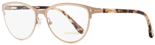 Tom Ford Oval Eyeglasses TF5420 074 Matte Pink/Rose Havana 52mm FT5420