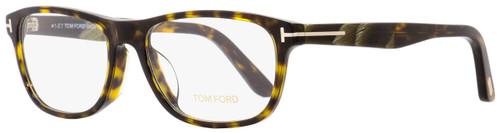 Tom Ford Rectangular Eyeglasses TF5430F 052 Dark Havana/Horn 56mm FT5430F