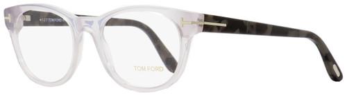 Tom Ford Round Eyeglasses TF5433 020 Transparent Grey/Grey Melange 53mm FT5433