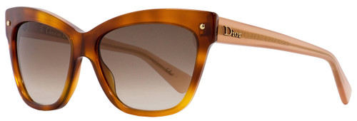 Dior Rectangular Sunglasses Jupon 2 3JYFM Light Havana/Antique Rose 55mm