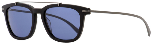 Salvatore Ferragamo Rectangular Sunglasses SF820S 002 Matte Black/Gunmetal 54mm 820