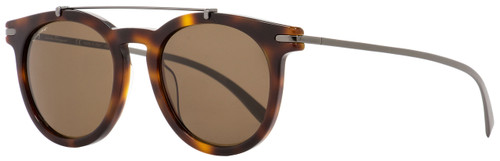 Salvatore Ferragamo Oval Sunglasses SF821S 214 Havana/Gunmetal 51mm 821