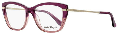 Salvatore Ferragamo Cateye Eyeglasses SF2730 524 Cyclamine/Rose/Gold 53mm 2730