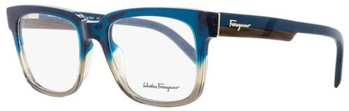 Salvatore Ferragamo Rectangular Eyeglasses SF2751 325 Petrol/Gray 53mm 2751