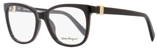 Salvatore Ferragamo Square Eyeglasses SF2760 001 Shiny Black 52mm 2760