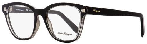 Salvatore Ferragamo Square Eyeglasses SF2766 001 Shiny Black/Clear 53mm 2766