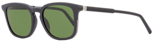 Montblanc Rectangular Sunglasses MB586S 02N Matte Black 52mm 586