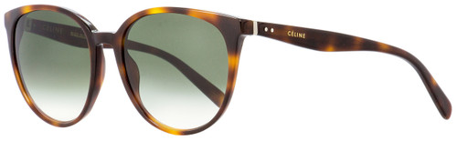 Celine Oval Sunglasses CL41068S 05LXM Havana 55mm 41068