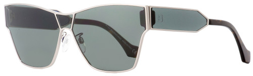 Balenciaga Rectangular Sunglasses BA95 14C Ruthenium/Havana 67mm BA0095