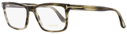 Tom Ford Rectangular Eyeglasses TF5407 005 Gray Melange 54mm 5407