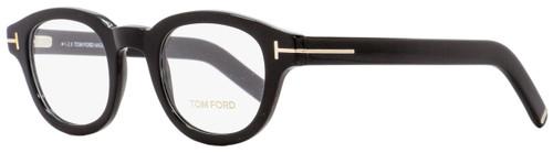 Tom Ford Round Eyeglasses TF5429 001 Black/Gold 45mm 5429