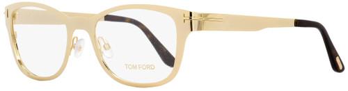 Tom Ford Eyeglasses FT5474 32E Gold/Havana 53mm 5474 w/ Clip-On