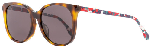 Fendi Oval Sunglasses FF0172FS TTRK2 Havana/Multicolored 56mm 172
