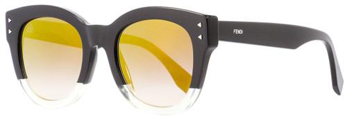 Fendi Oval Sunglasses FF0239S 71CFQ Black/Opal 50mm 239