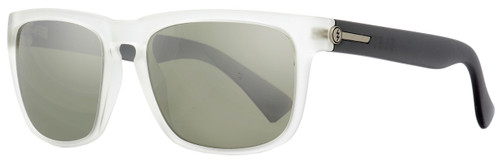 Electric Rectangular Sunglasses Knoxville EE09058921 Matte Crystal/Black 55mm