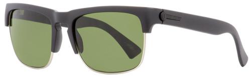 Electric Rectangular Sunglasses Knoxville Union EE11501020 Matte Black/Palladium 55mm