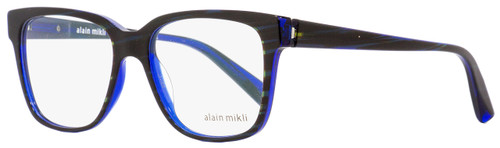 Alain Mikli Square Eyeglasses A03034 B0I8 Dark Blue 53mm 3034