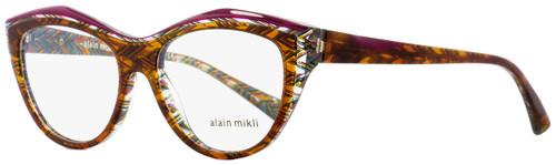 Alain Mikli Butterfly Eyeglasses A03041 4115 Violet/Havana 52mm 3041