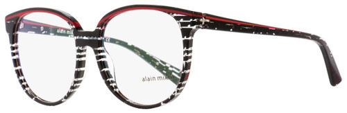 Alain Mikli Oval Eyeglasses A03050 E009 Black/Red/Crystal 55mm 3050