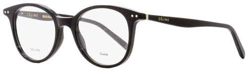 Celine Oval Eyeglasses CL41407 807 Black 49mm 41407