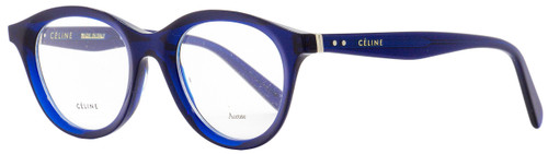 Celine Oval Eyeglasses CL41464 PJP Blue 46mm 41464