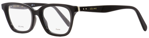 Celine Rectangular Eyeglasses CL41465 807 Black 48mm 41465