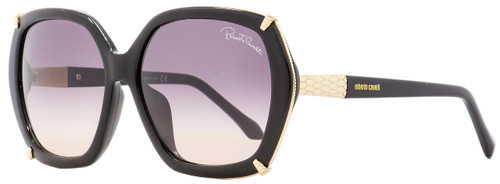 Roberto Cavalli Square Sunglasses RC993S-D Turais 01B Gold/Black 59mm 993