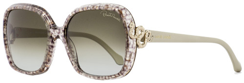Roberto Cavalli Square Sunglasses RC1016 Yildun 05B Gray Melange/Gold 58mm 1016