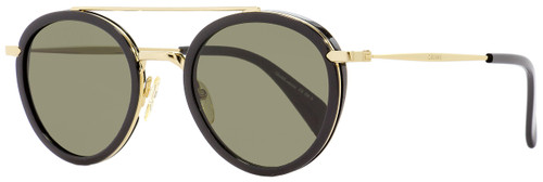 Celine Oval Sunglasses CL41424S ANW70 Gold/Black 49mm 41424