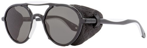 Givenchy Oval Sunglasses GV7038S TEMNR Black/White 50mm 7038