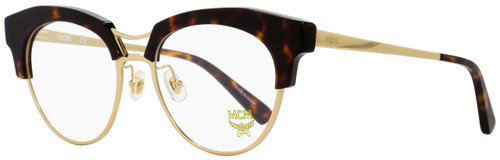 MCM Oval Eyeglasses MCM2106 214 Gold /Havana 52mm 2106