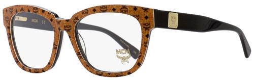 MCM Rectangular Eyeglasses MCM2624 262 Cognac Visetos/Black 53mm 2624