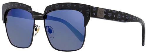 MCM Square Sunglasses MCM102S 005 Matte Black/Black Visettos 56mm 102