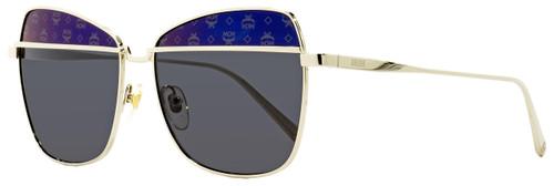 MCM Aviator Sunglasses MCM123S 734 Gold 57mm 123