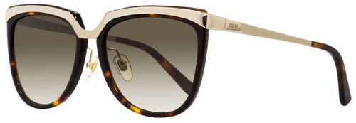 MCM Square Sunglasses MCM626S 214 Gold/Havana 55mm 626