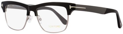 Tom Ford Rectangular Eyeglasses TF5371 001 Black/Gunmetal 53mm FT5371