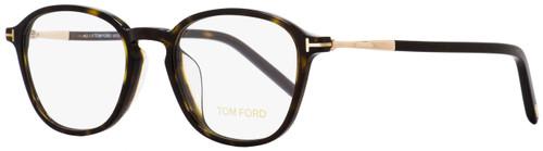 Tom Ford Rectangular Eyeglasses TF5397F 052 Dark Havana/Gold 52mm FT5397F